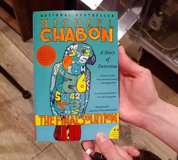 A HarperCollins paperback printed by the Espresso Book Machine on March 6, 2019.