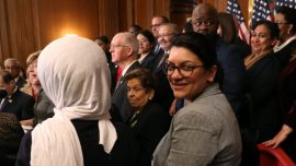 Rep. Rashida Tlaib Says She Feels More Palestinian in the Congress Than Anywhere Else
