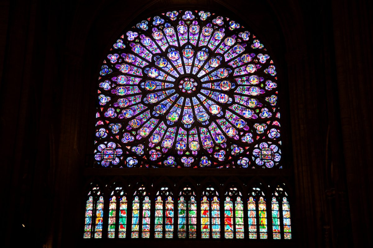 rose window (rosace) of Notre-Dame