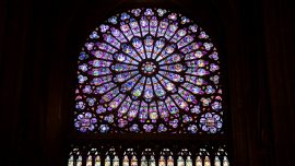 Notre-Dame's Famed Rose Window Spared but Blaze Harms Priceless Artworks