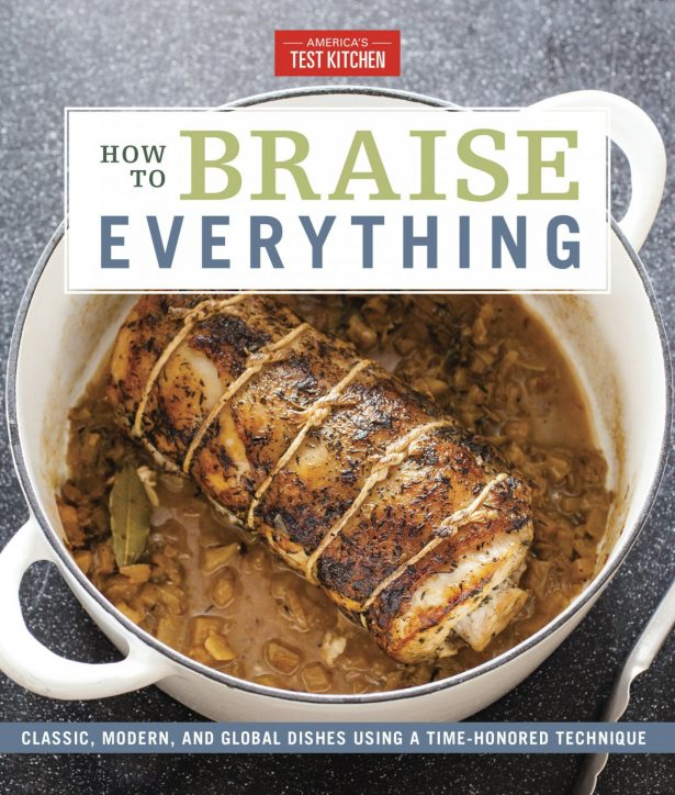 """The cover for the cookbook """"How to Braise Everything"""