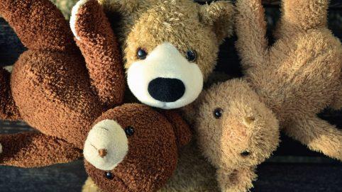 Girl With Autoimmune Disease Creates Teddy Bear Pouch That Hides IV Bags