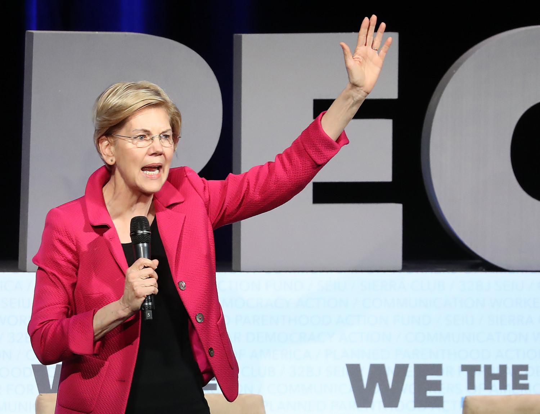 Democratic Presidential candidate Sen.Elizabeth Warren(D-Mass.)