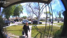 Video Shows Woman Confronting Porch Pirate Stealing Mail From Her Mailbox