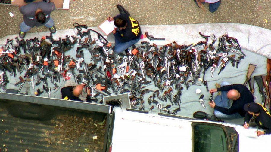Suspect out of Jail After 1,000 Guns Seized From Los Angeles Mansion