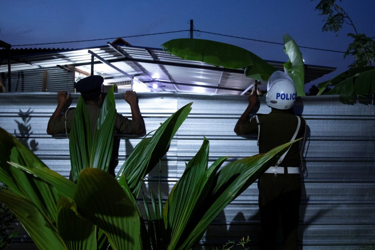 Islamist training camp in Sri Lanka