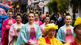 Celebrating Falun Dafa Day in London