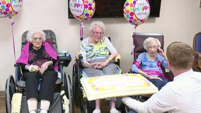 Three Friends Celebrate 100+ Birthdays