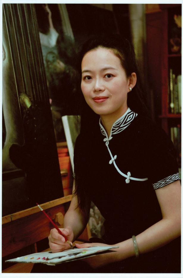 Oil painting artist and NTD Figure Painting Competition jury panelist Xiaoping Chen