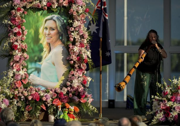 A memorial service for Justine Ruszczyk Damond