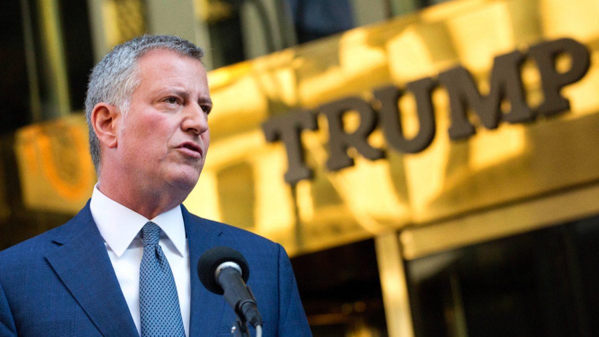 Bill de Blasio NYC mayor