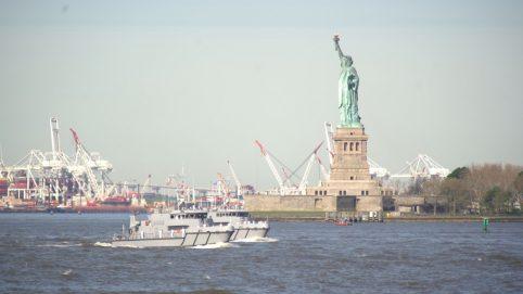 Purple Heart Veterans Honored As Fleet Week Begins in New York