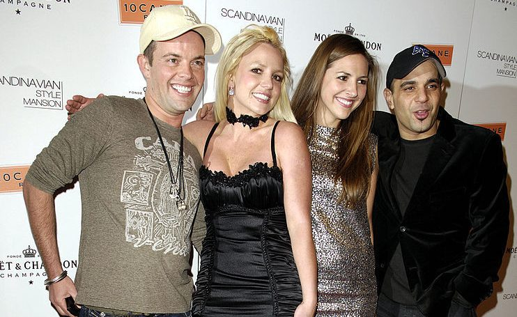 Claus Hjelmbak, Britney Spears, Alli Simms and Sam Lufti