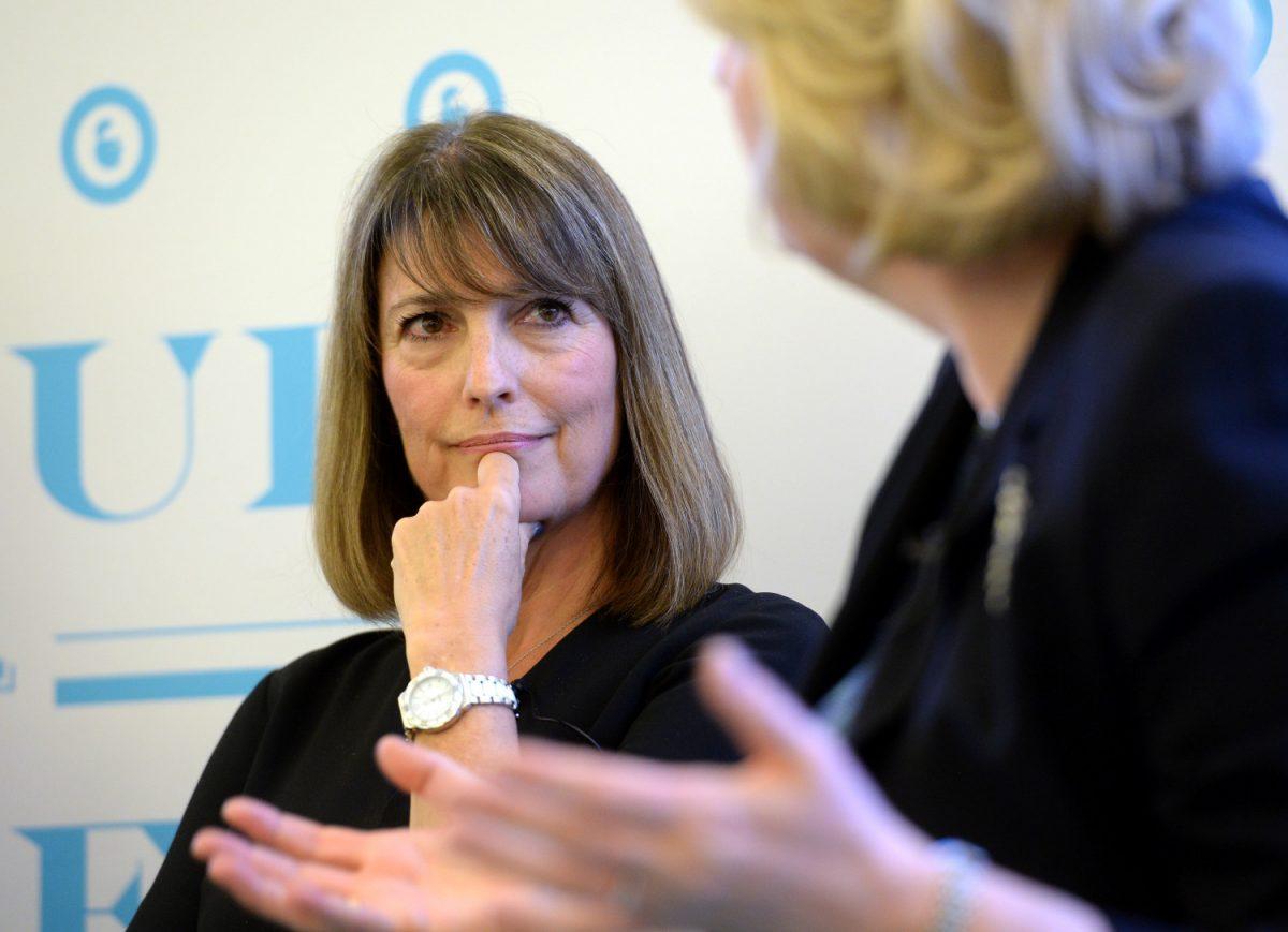 CEO ITV Carolyn McCall