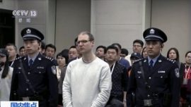 China Holds Appeal Hearing for Canadian Sentenced to Death