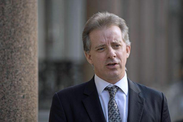 Christopher Steele, former British intelligence officer