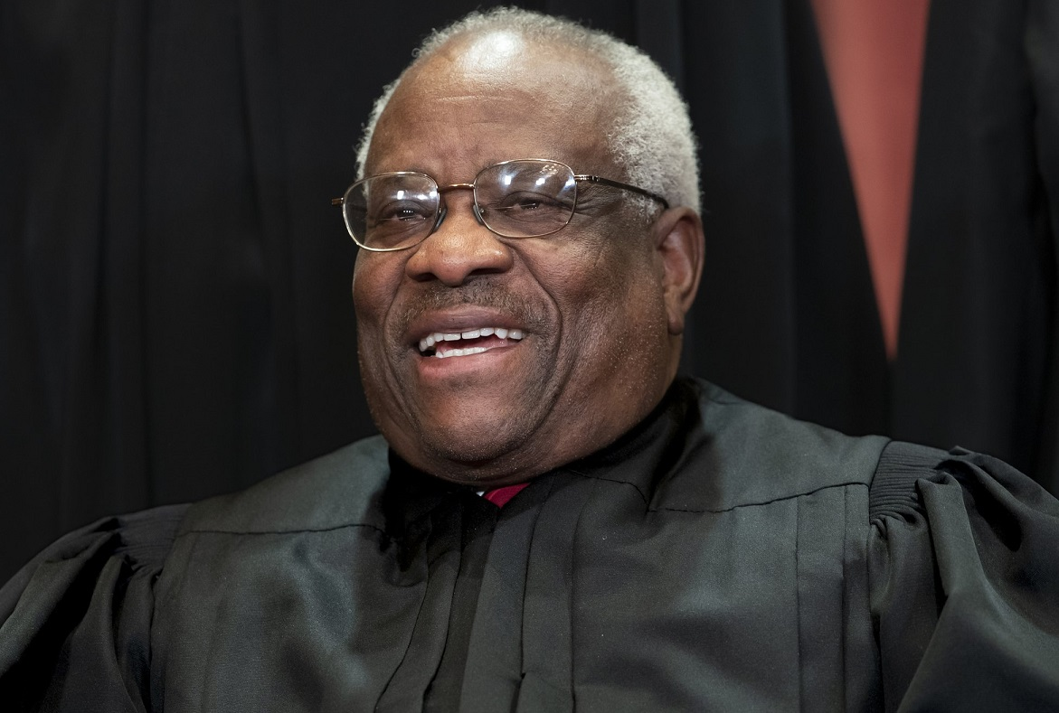 Supreme Court Associate Justice Clarence Thomas, appointed by President George H. W. Bush