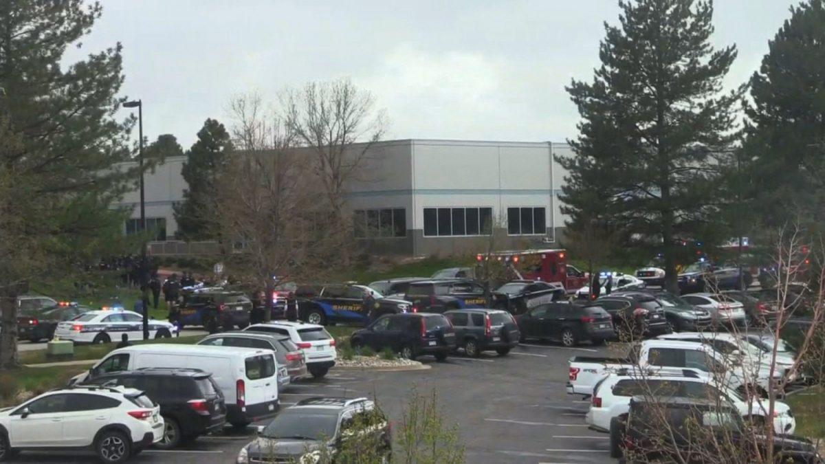 Shots were fired at a school