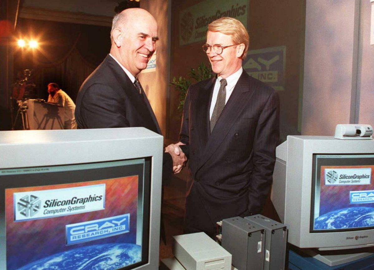 CEO cray CEO Silicon Graphics
