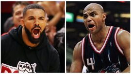 NBA Legend Charles Barkley Says He Would 'Knock the Hell Out of Drake'