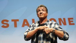 Sylvester Stallone Speaks at Cannes Film Festival
