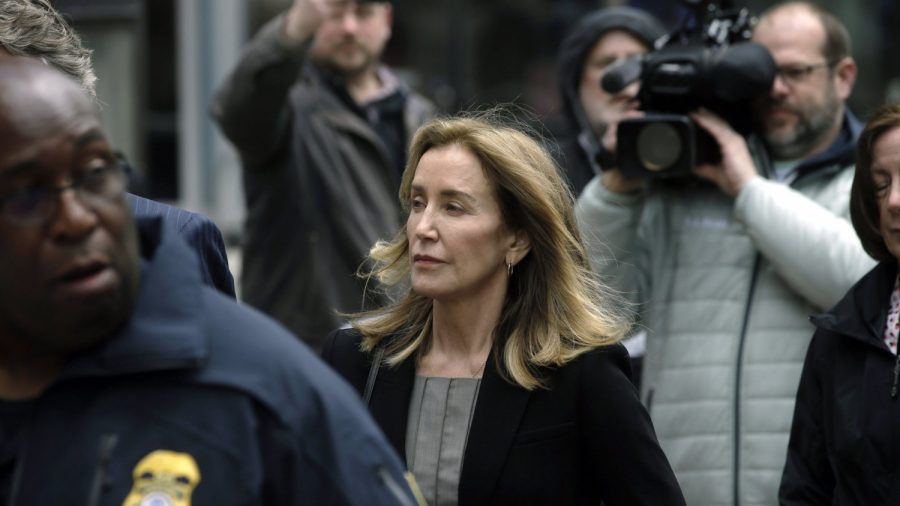 Felicity Huffman Weeps as She Pleads Guilty in College Admissions Scandal