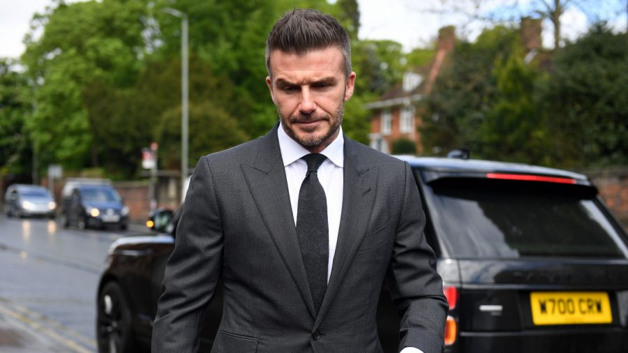 David Beckham Banned for Six Months and Fined: Caught Using His Phone While Driving
