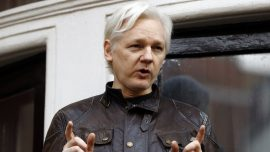 WikiLeaks' Assange Gets 50 Weeks in Prison for Bail-Jumping