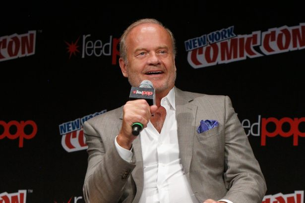 Actor Kelsey Grammer speaks onstage as Netflix presents Dreamworks Trollhunters during New York Comic Con