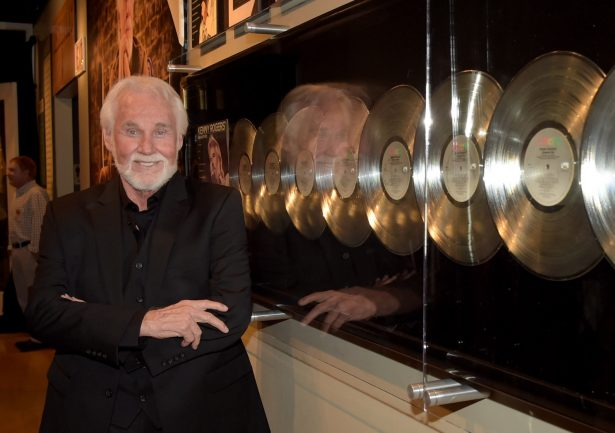 Country Music Hall of Fame member Kenny Rogers at the Country Music Hall of Fame Kenny Rogers Exhibit