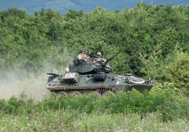 LAV25 armored vehicle
