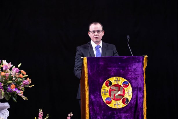 Rob Gray, Falun Dafa practitioner from the United Kingdom