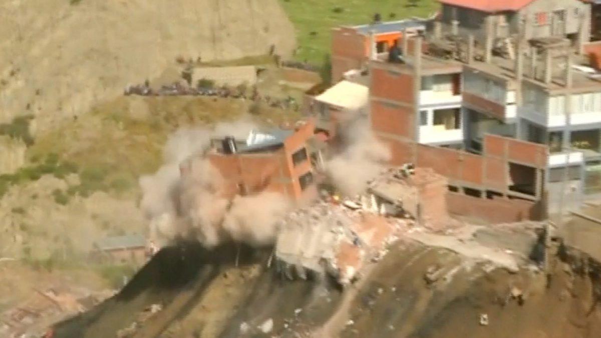Landslide Bolivia 2