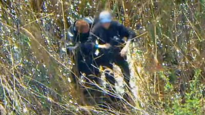 Nature Walker Who Became Stuck in Mud Is Rescued by NYPD Special Ops Helicopter