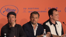 "Tarantino, Pitt, and DiCaprio Speak for the First Time About ""Once Upon a Time in Hollywood"""