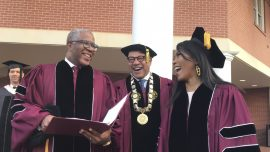 Speaker Stuns Morehouse Grads, to Pay Off $40M Student Debt