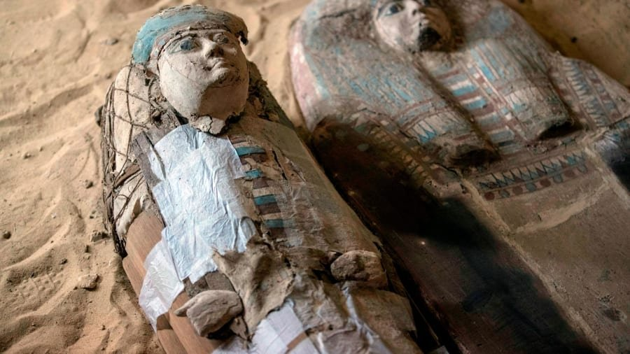 4,500-Year-Old Ancient Egyptian Tombs Found in Giza