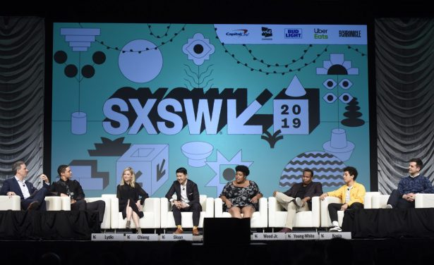 Jake Tapper, Trevor Noah, Desi Lydic, Ronny Chieng, Dulc Sloan, Roy Wood Jr, Jaboukie Young-White and Michael Kosta speak at SXSW Featured Session