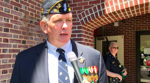 Peter Cairney Marine veteran