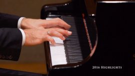 NTD International Piano Competition Contestants Warm Up