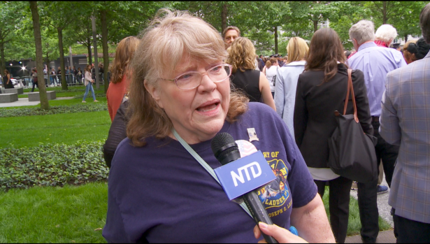 Patty Sumner, sister of 9/11 first responder Lt. Joseph Leavey, told NTD the story of her brother.