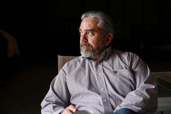 Jody Guerra on his father's ranch, La Anacua Ranch, near Rio Grande City,