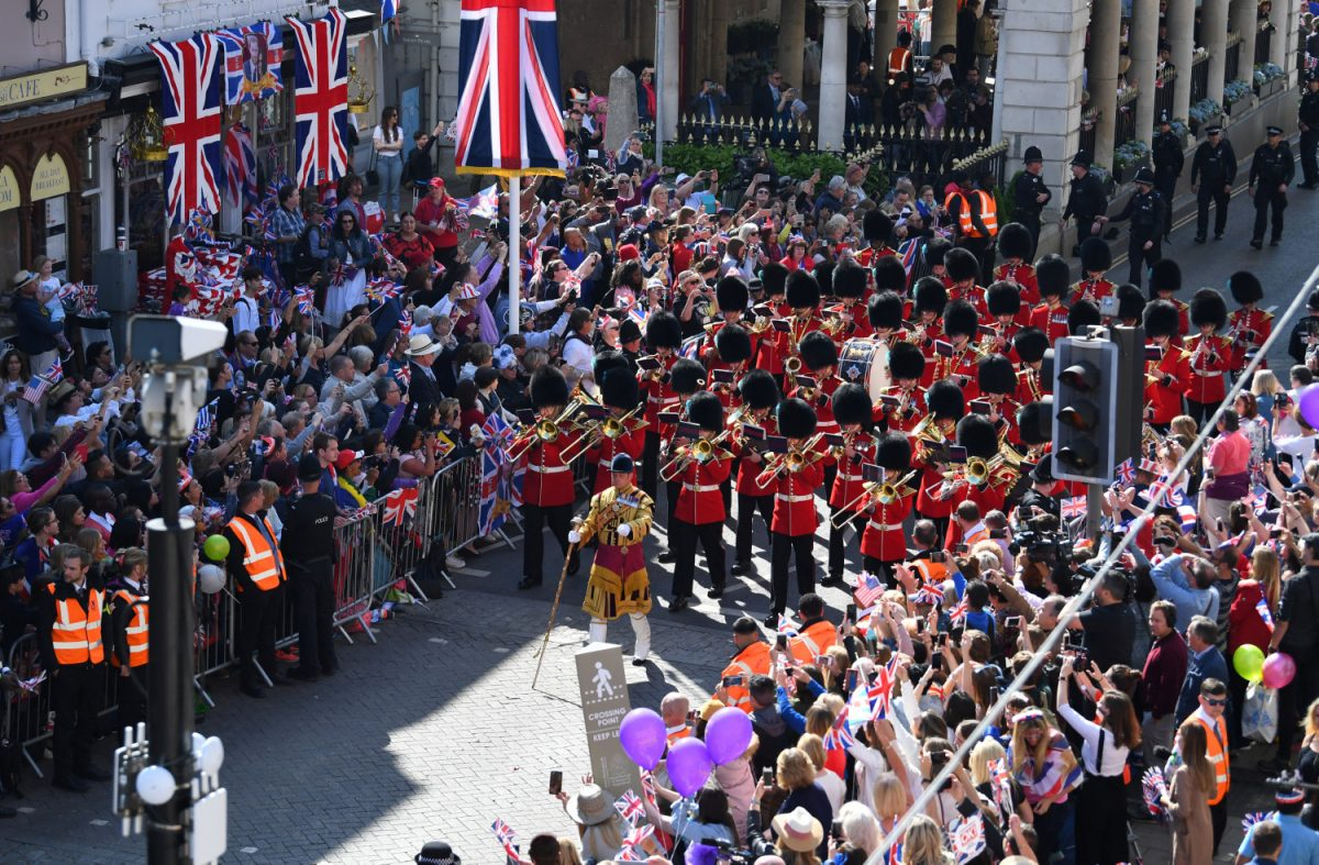 The Queen's Guard band