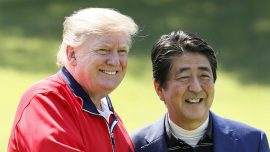 Trump Travels to Japan as the First State Guest of Reiwa Era