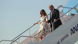Trump Arrives in Japan for Ceremonial Visit