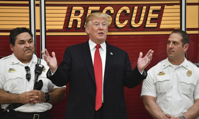 Frustrated With IAFF's Endorsing Biden, Thousands of Firefighters Join Pro-Trump Group