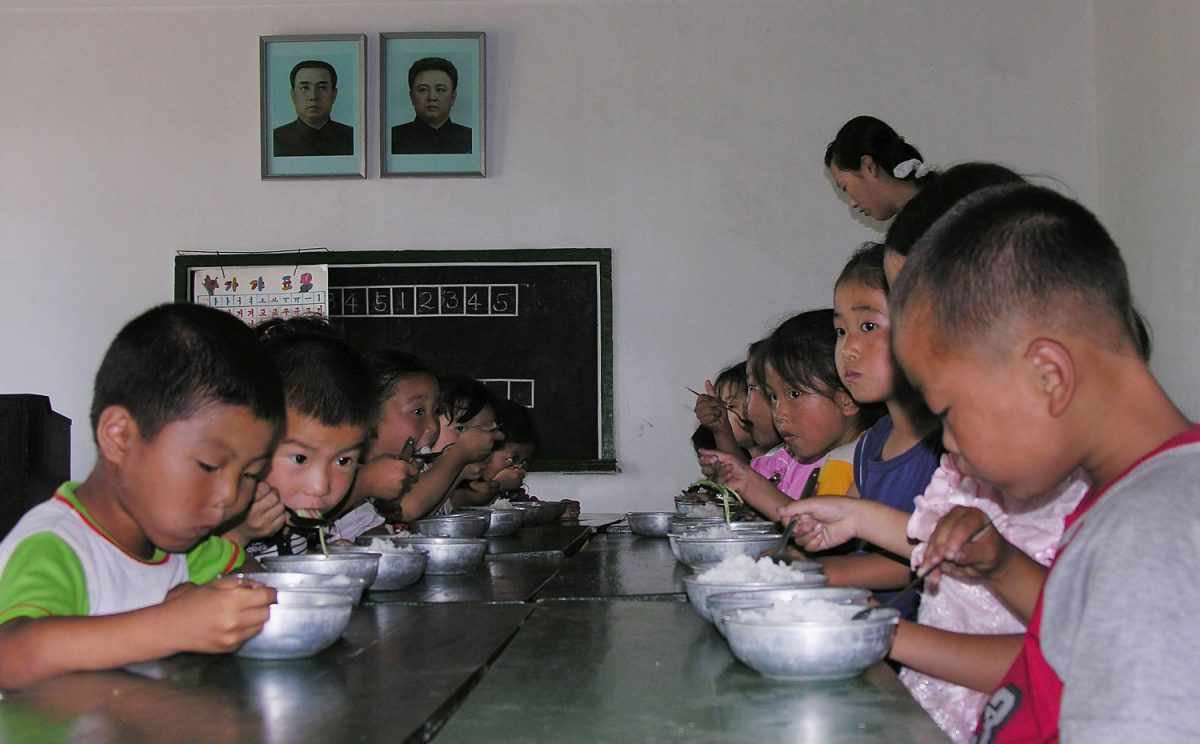 UN food program north korea