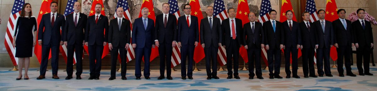 Members of U.S. and China delegation