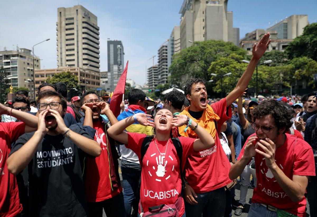 Venezuelas Juan Guaido march 6
