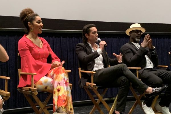 Joy Villa, Brandon Straka, and Isaiah Washington